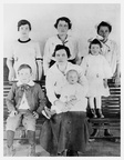 Mary Ethel McPherson Bryan and children