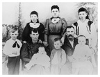 James Henry McPherson and Julia Vickers Family